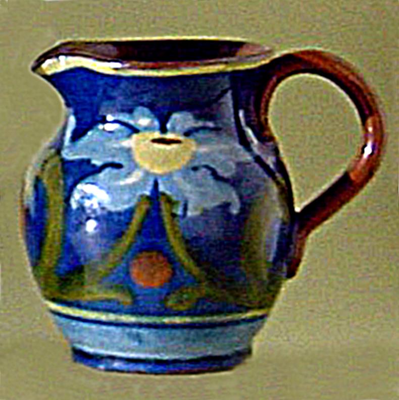 Crown Dorset Art Nouveau decoration