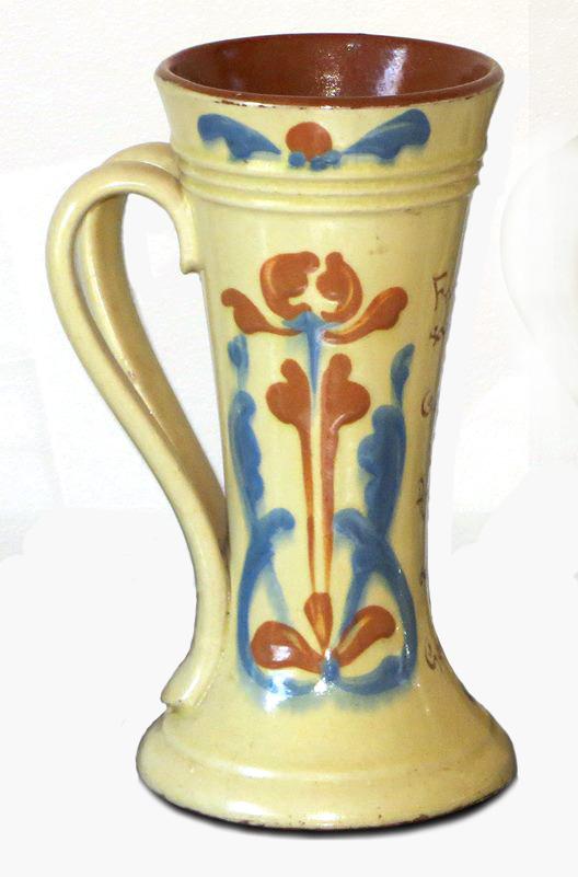 Exeter Art Pottery Art Nouveau decoration