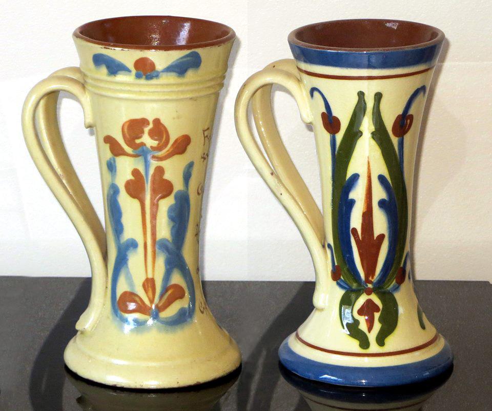 Exeter Art Art Nouveau and Hart & Moist Scandy pattern