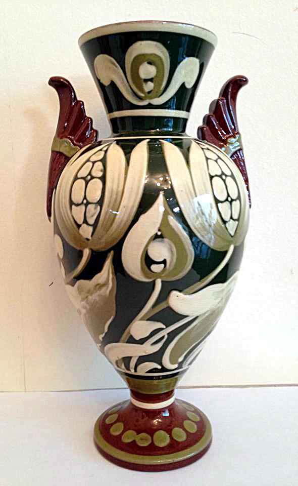 South Devon Art Nouveau decoration