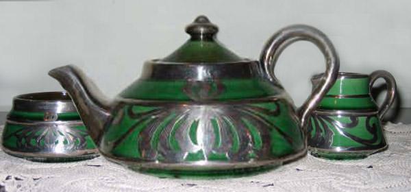 Longpark Art Nouveau pottery