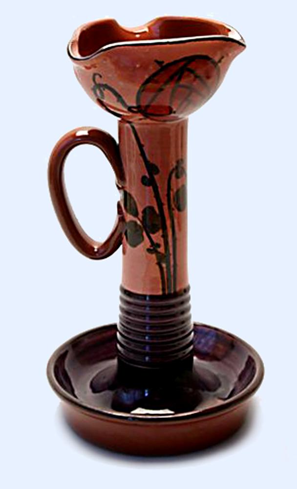 Watcombe late period Art Nouveau pottery