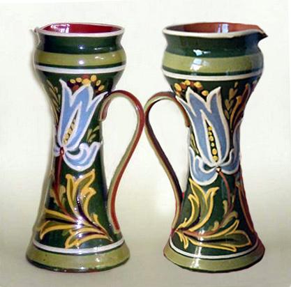 Watcombe Art Nouveau pottery