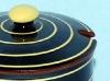 Babbacombe Pottery. swirl pot