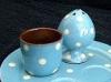 Babbacombe Pottery. Polka dot