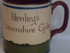 Longpark Pottery Mug for Henleys Cyder