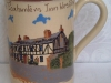 Devon Tors Pottery Mug; Foxhunters Inn