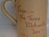 Devon Tors Pottery Mug from The Three Pilchards Inn, Polperro