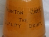 Watcombe Pottery Ginger Shaker made for the Taunton Cider Co