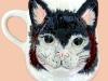 Babbacombe Pottery cat mug
