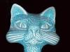 Dartmouth pottery cat money bank/box