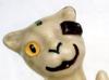 Longpark Pottery brick-in-eye-cat