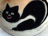Royal Torquay Pottery small cat vase