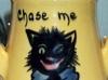 Royal Torquay Pottery cat vase