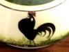 Longpar Pottery black cocoerel