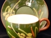 Watcombe Pottery Cup & Saucer with Daffodil decoration