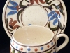 Aller Vale Pottery Cup & Saucer with Persian, A1 pattern