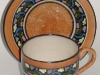 Daison Art Pottery rare Cup and Saucer