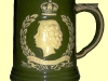 Dartmouth Pottery. Coronation mug 1953