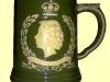 Dartmouth Pottery. Coronation mug 1953