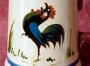Dartmouth Pottery.-scarce-cockerel-tankard