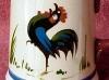 Dartmouth Pottery.-scarce-cockerel-tankard