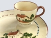 Dartmouth Pottery.-tv-snack-set
