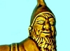 Dartmouth Pottery reclining-gnome