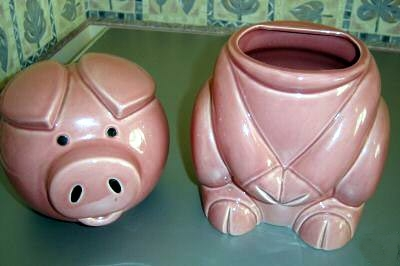 D249 Pig biscuit barrel