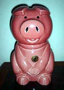 D564 Comical pig