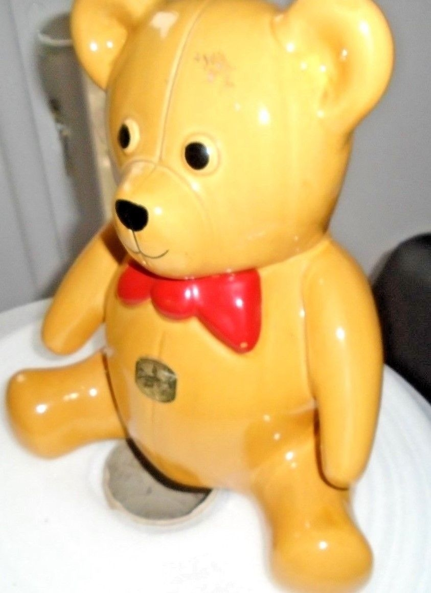 A bear biscuit jar