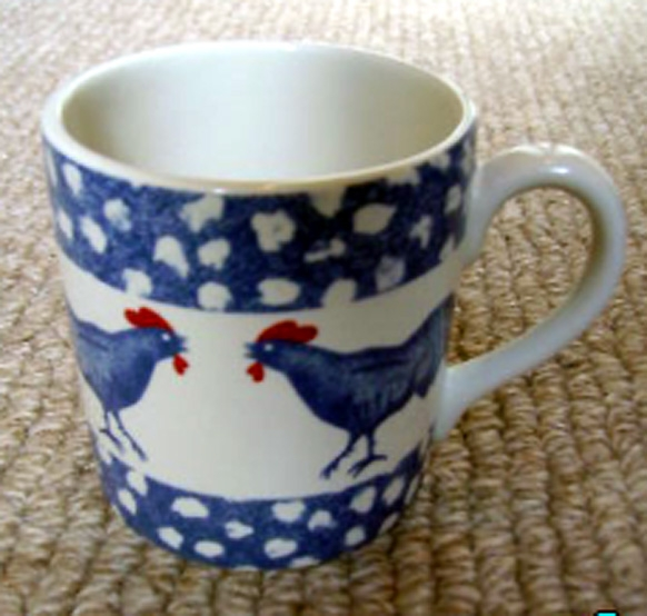 ICTC Chanticleer_mug or cup made for Harrods