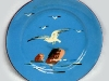 Devonshire Potteries seagull plate.