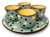 Devonshire Potteries Polka dot egg cups