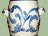 Devonshire Potteries scroll vase