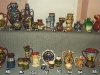 Aller Vale pottery pattern codes; 5 pics of a display at a TPCS meeting in the 1990s. #4