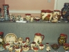 Aller Vale pottery pattern codes; 5 pics of a display at a TPCS meeting in the 1990s. #3