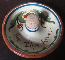 £16 Torquay Pottery Pipe-tapper bowl Dec \'13
