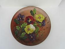£40 Watcombe painted Plaque 12ins Dec \'13