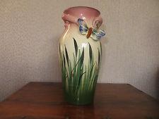 £44 Torquay Butterfly vase Jan \'14