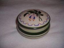 £47 Longpark Bowl with unusual Fuchsia pattern July 13
