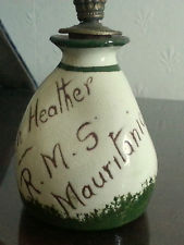 £47 v rare Torquay Scent Bottle RMS Mauritius Mar \'14