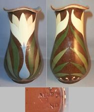 £78 Aller Vale Vase with crocus pattern May \'13