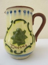 £43 Torquay Pottery Jug for the Devons regiment, May \'13