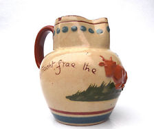 £62 Aller Vale Jug with scarce applied Cow Oct \'13