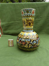 £51 Aller Vale vase in rare yellow ground pattern Oct \'15