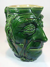 £93 Aller Vale jug in the form of WE Gladstone, \'Grand Old Man\', Oct \'15