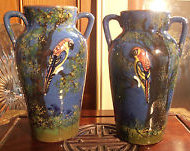 £16 Torquay Pottery Vases Aug \'12