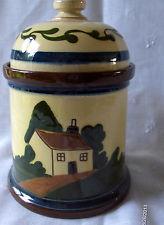 £54 Aller Vale cottage tobacco jar Aug \'13