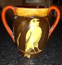 £50 Watcombe Jarrolds Canary Vase Aug \'13